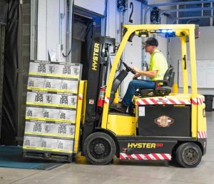 What is Cross docking?