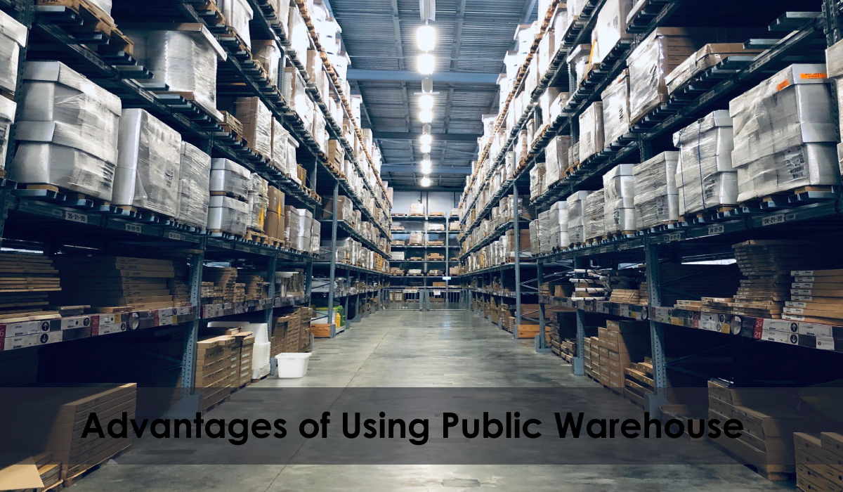 advantage of using public warehouse