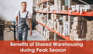 benefits of shared warehousing during peak season