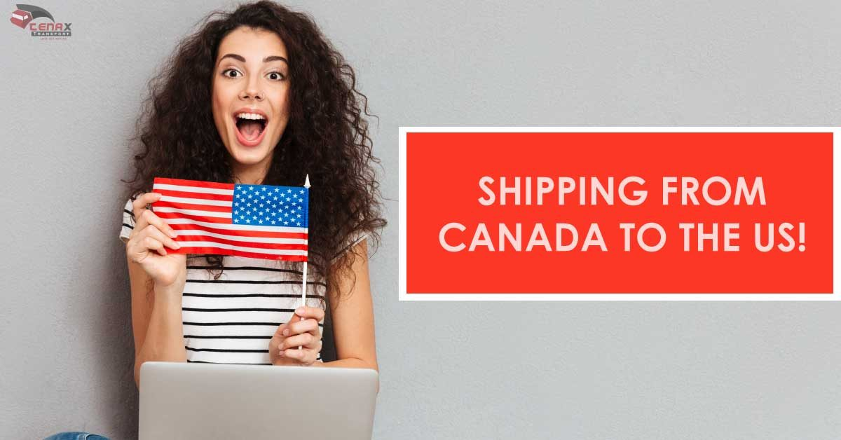 shipping service from canada to US